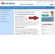 SAP User List 'Provider of Choice'